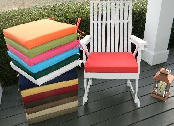 18 X18 X2 Foam Cushion Pad For Rocker Rocking Chair Solid Col