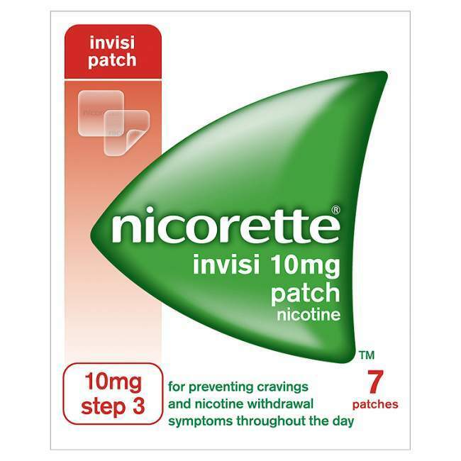 Nicorette Invisi 10mg Patch Step 3 7 Patches Ebay