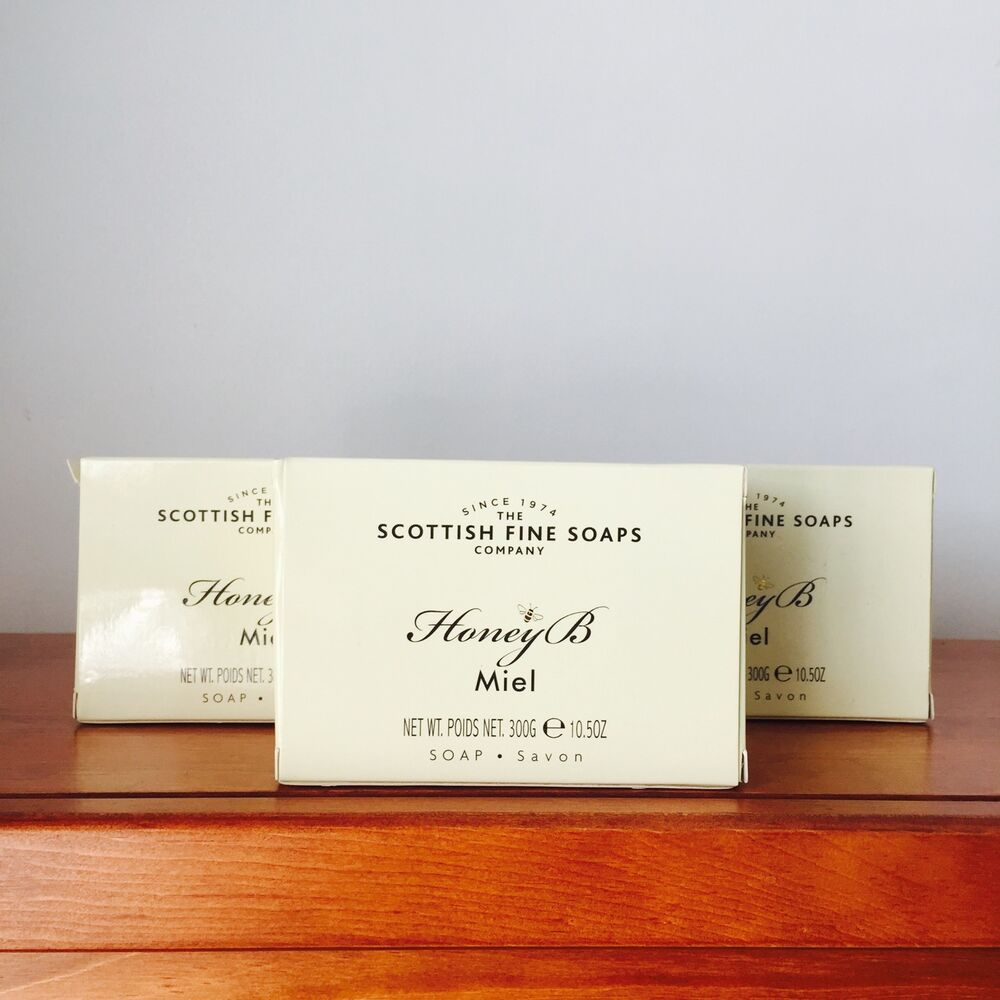 scottish fine soaps oatmeal sea kelp milk honey xlarge soap 10 5oz ebay. Black Bedroom Furniture Sets. Home Design Ideas