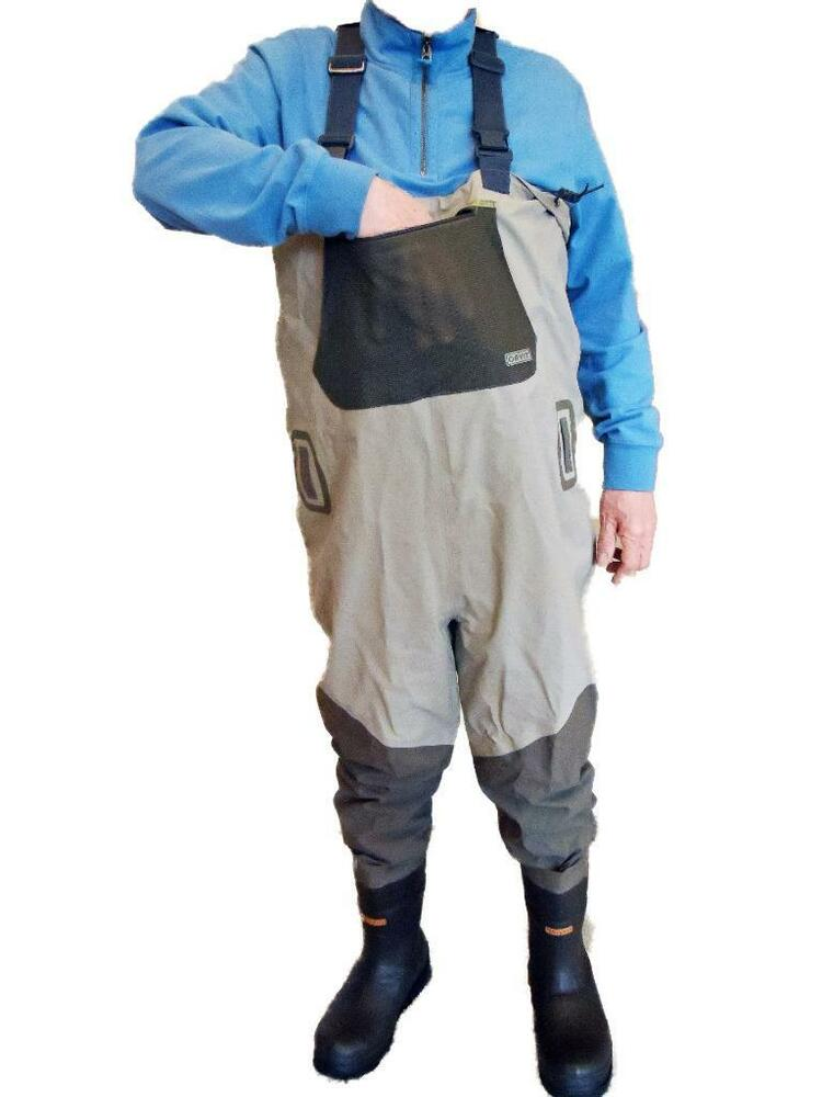 Orvis encounter bootfoot breathable chest waders w felt for Men s fishing waders