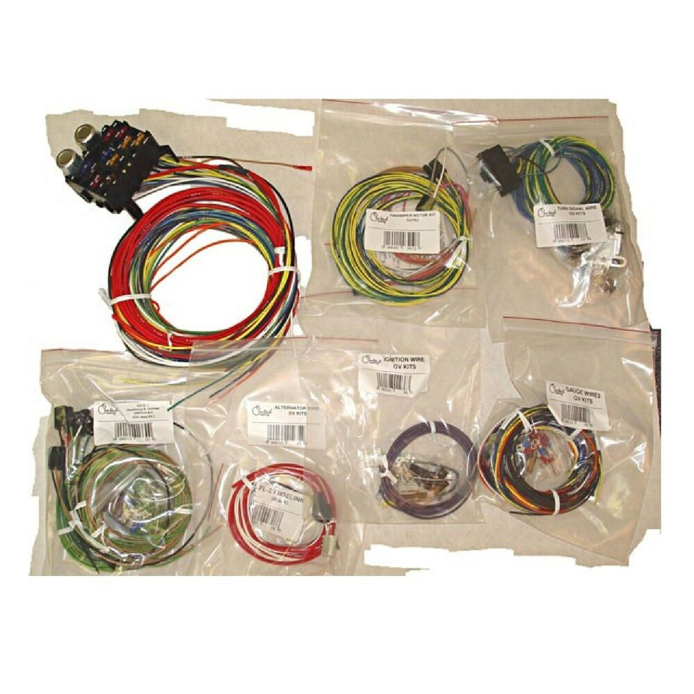 omix ada centech wiring harness for jeep cj5 cj6. Black Bedroom Furniture Sets. Home Design Ideas