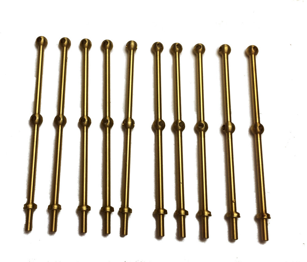 Caldercraft mm high hole brass ball stanchions for