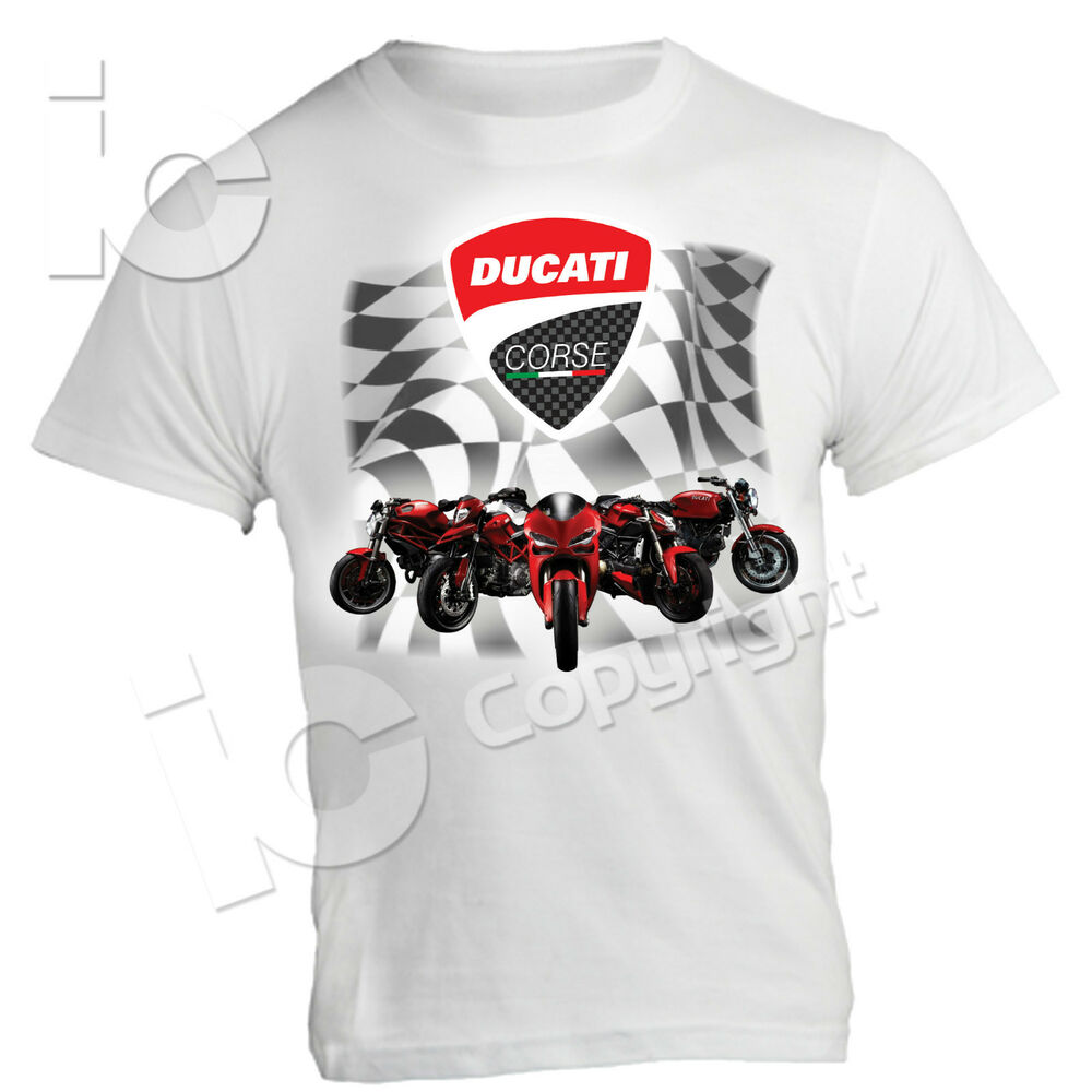 t shirt ducati desmo racing power panigale hypermotard monster flotta 1000 ebay. Black Bedroom Furniture Sets. Home Design Ideas