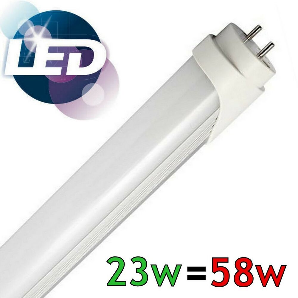 58w fluorescent lamp 22w led replacement 5ft 1500mm t8 tube light cool white ebay. Black Bedroom Furniture Sets. Home Design Ideas