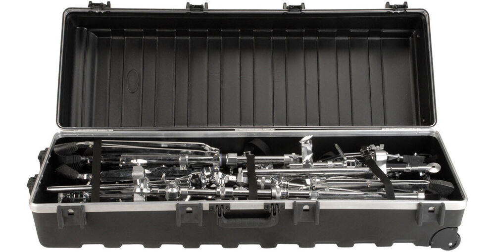 Skb Trap Ata Large Molded Hard Case W Wheels For Drum