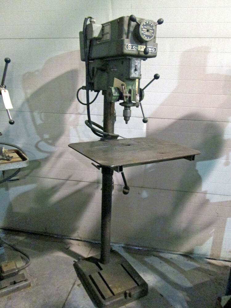 15 Quot Clausing Model 16vc 1 Drill Press Ebay
