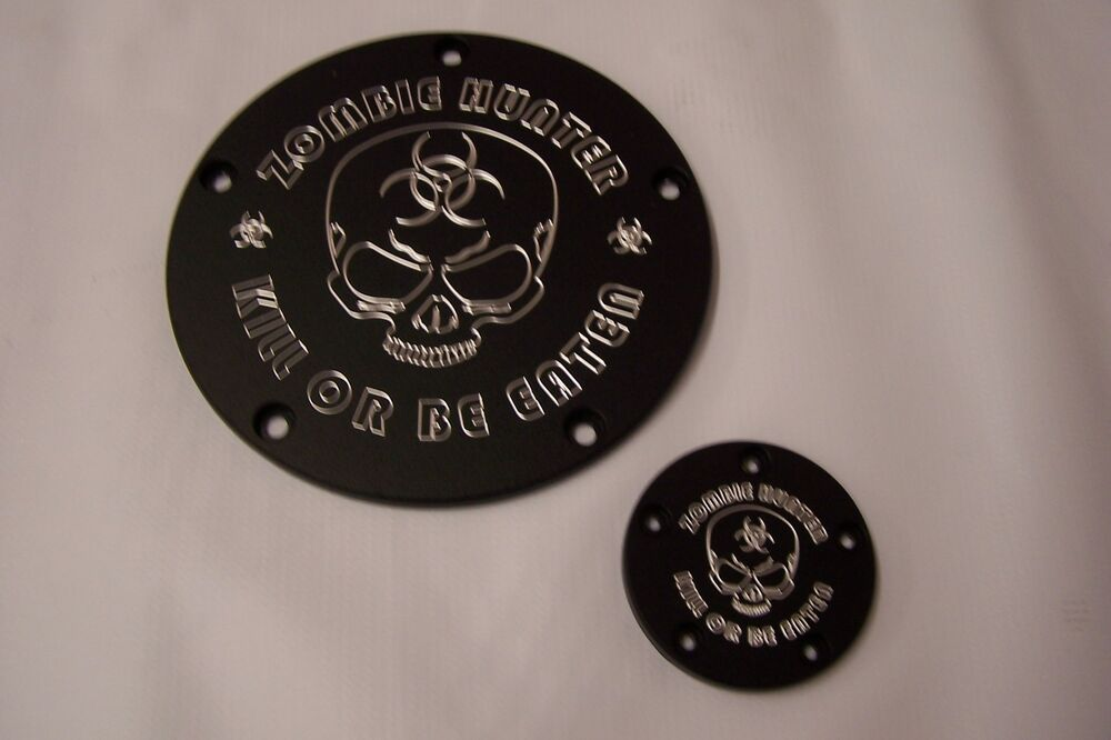Twin Cam Derby-points cover set Fits Harley Davidson ...