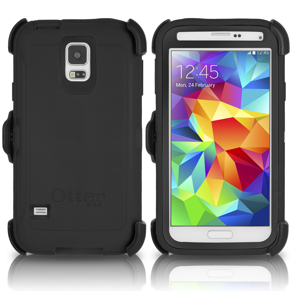 OtterBox Galaxy S5 Defender Case & Holster Belt Clip Black