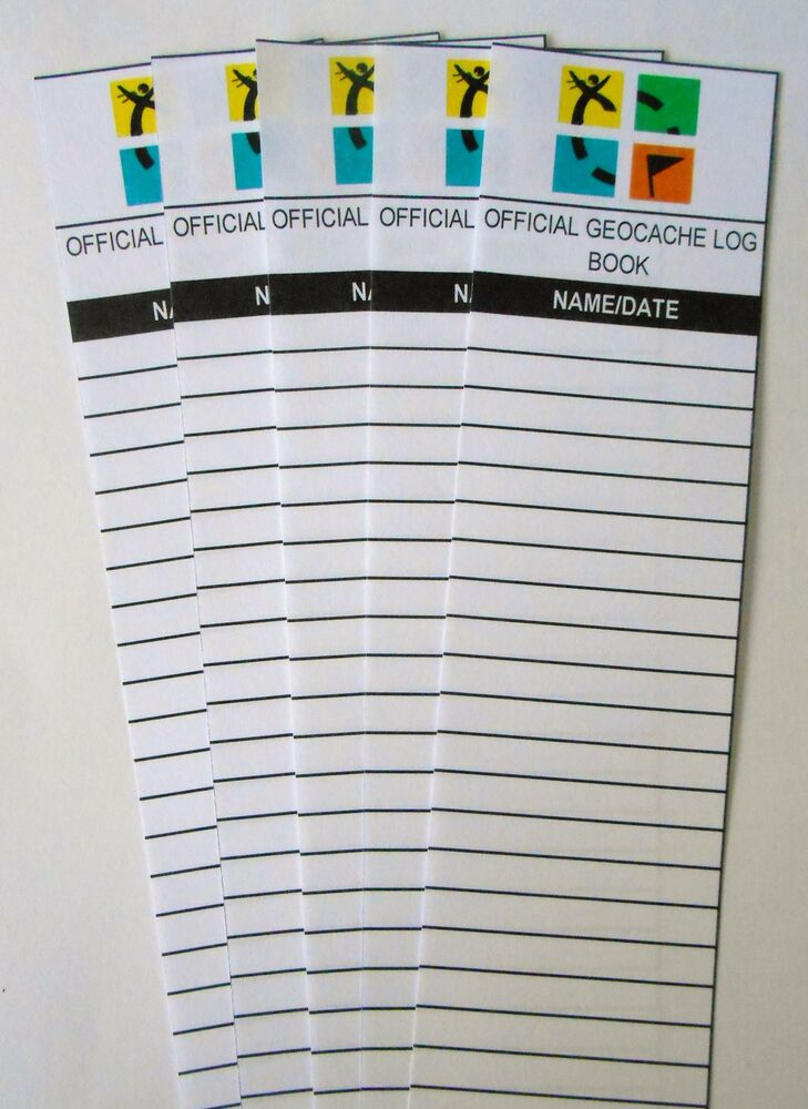 It's just an image of Refreshing Official Geocache Printable