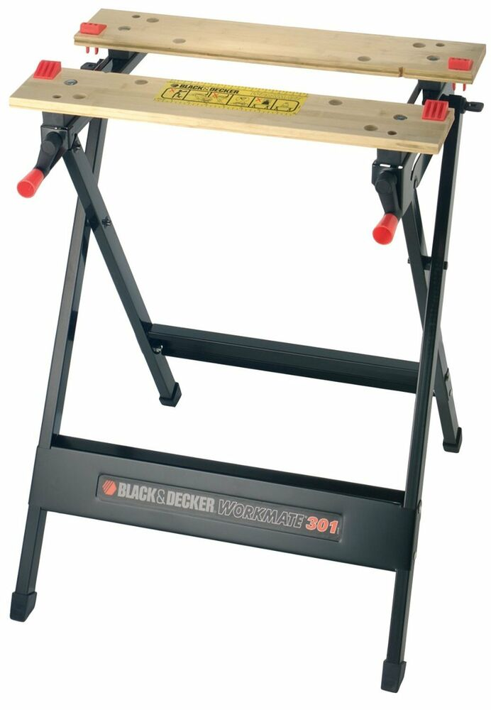Black decker workmate wm301 new free p p ebay for Black et decker prix