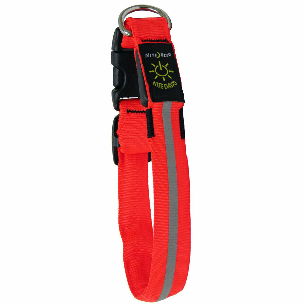 Nite Ize Nnd 03 19s Nite Dawg Led Dog Collar Red Led