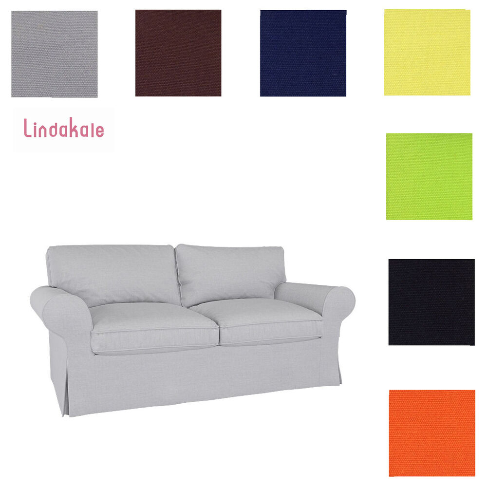 Custom made cover fits ikea ektorp loveseat two seat sofa - Copridivano ikea ektorp ...