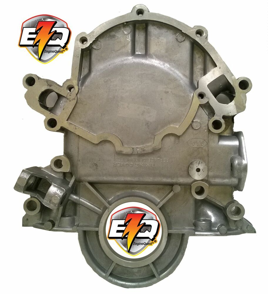 Ford 302 / 351W Timing Cover With Diptube Hole & Fuel Pump