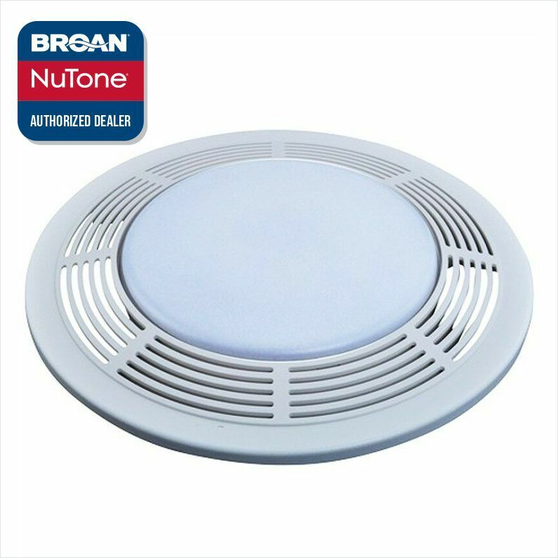 bathroom exhaust fan light cover broan nutone s97017702 8663fl 8663rf fan light grille 22072