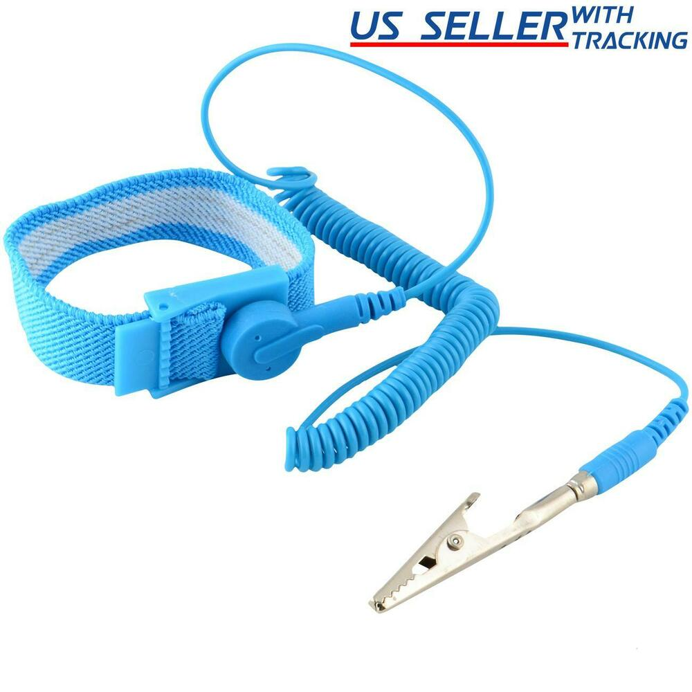 Anti Static Electronics : Anti static wrist strap esd grounding discharge band