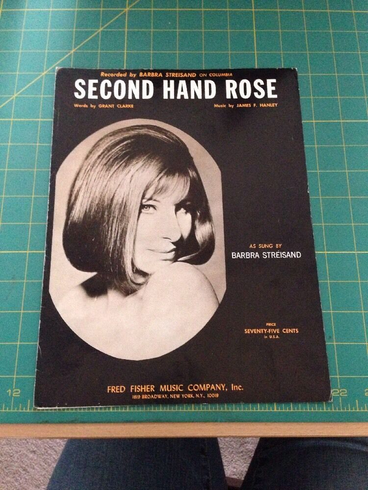 Second hand rose as sung by barbara streisand ebay for Second hand ohrensessel