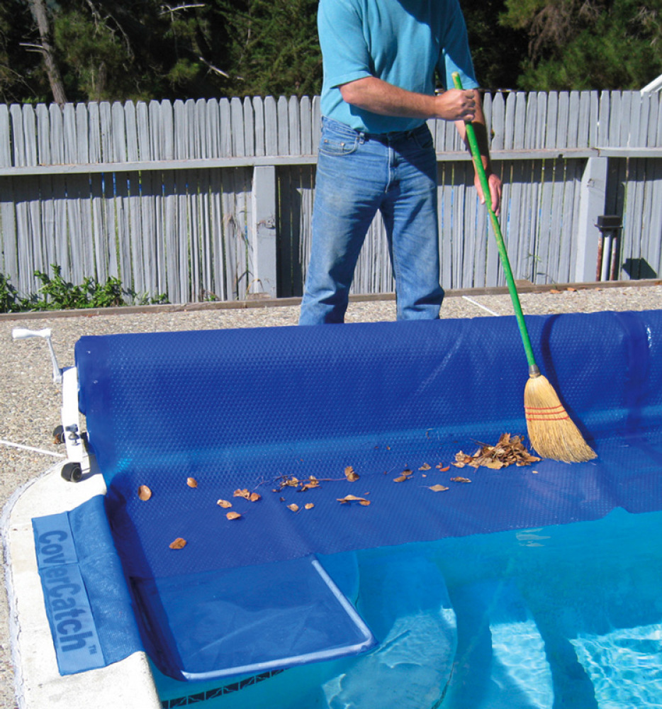 Poolmaster Cover Catch Debris Collector For Swimming Pool Solar Winter Covers Ebay