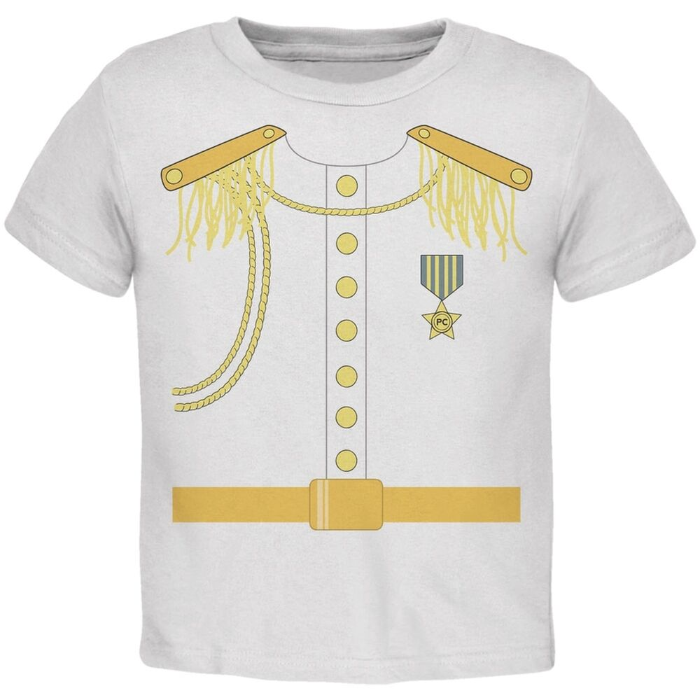 Prince charming costume white toddler t shirt ebay for Costume t shirts online