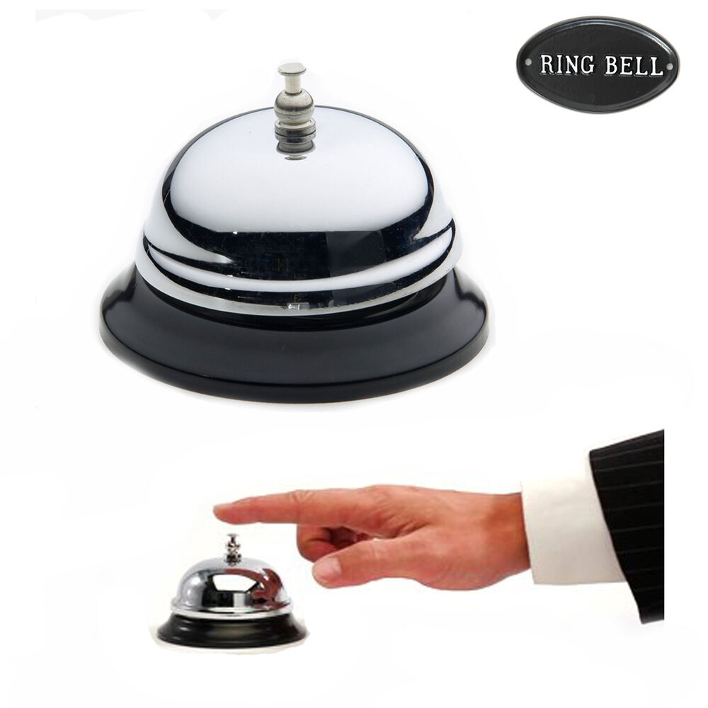 Traditional Calling Bell Front Desk Reception Service