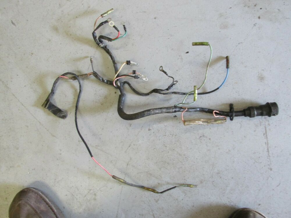 1985 yamaha outboard two stroke 90hp 90etlk wiring harness