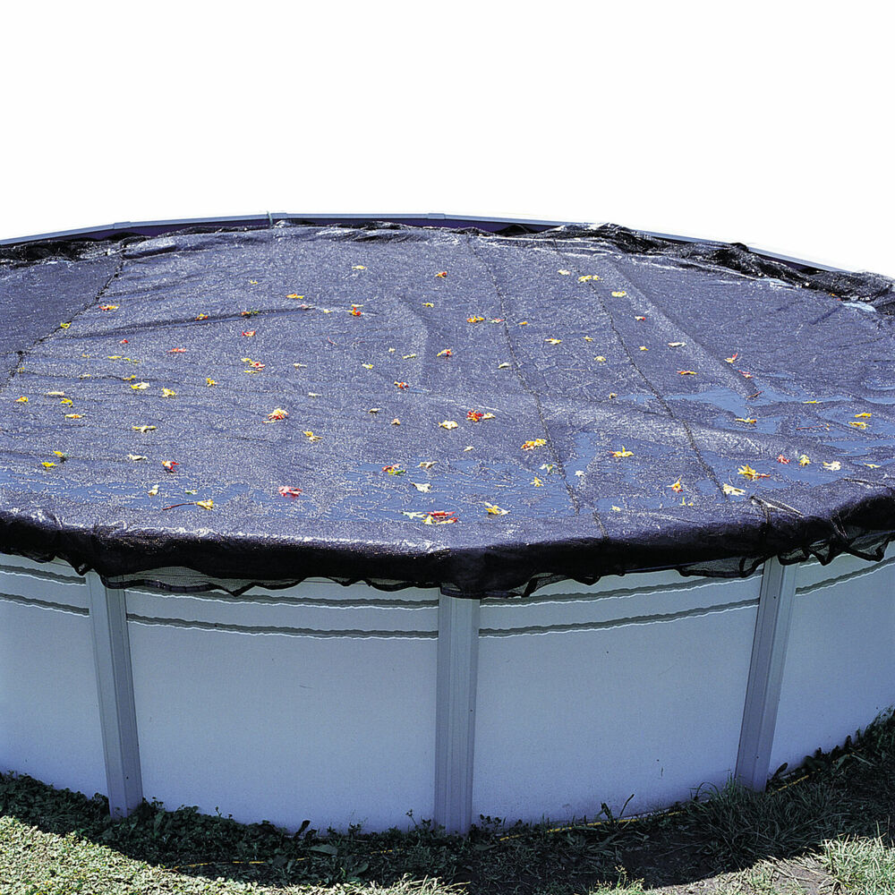 15 39 X30 39 Oval Swimming Pool Winter Cover Leaf Net Ebay