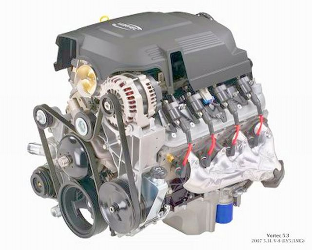 5 3 Vin J Opt Ly5 Engine 07 To 09 Avalanche Sierra