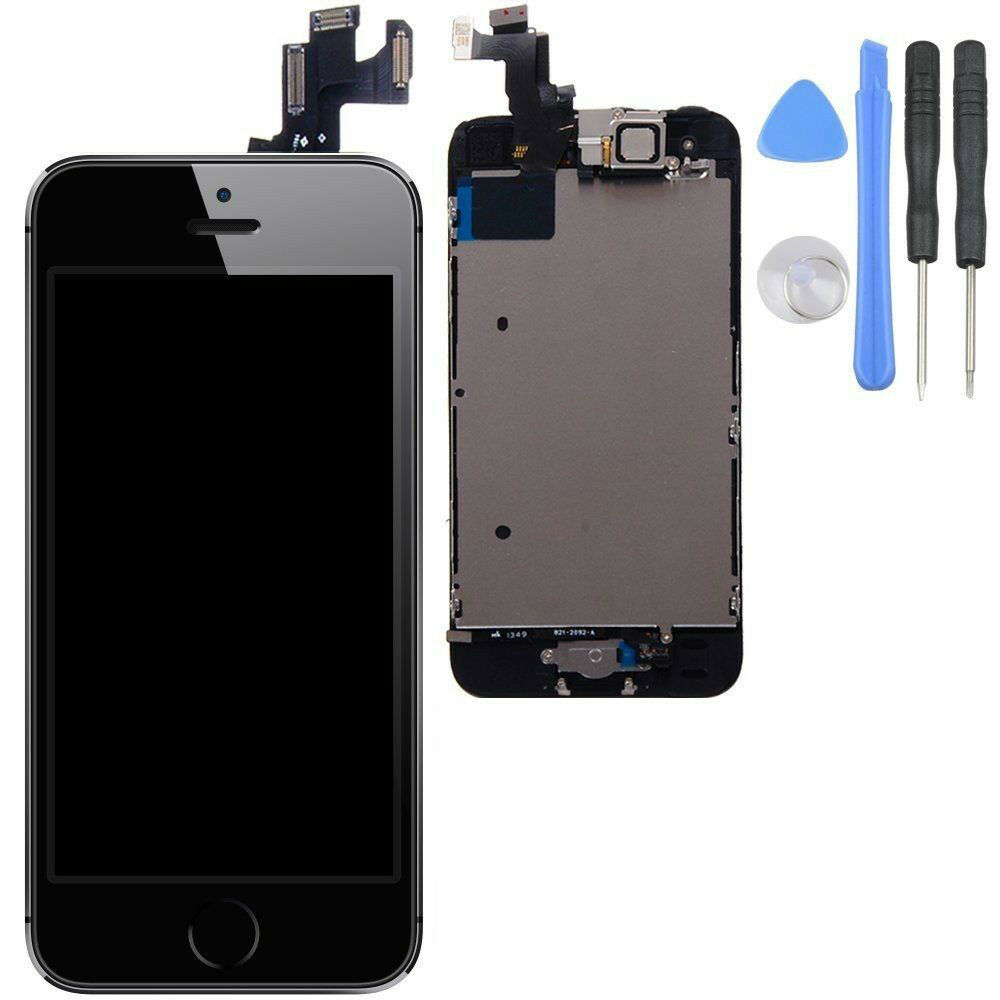 iphone 5s digitizer replacement iphone 5s black lcd lens touch screen display digitizer 7714