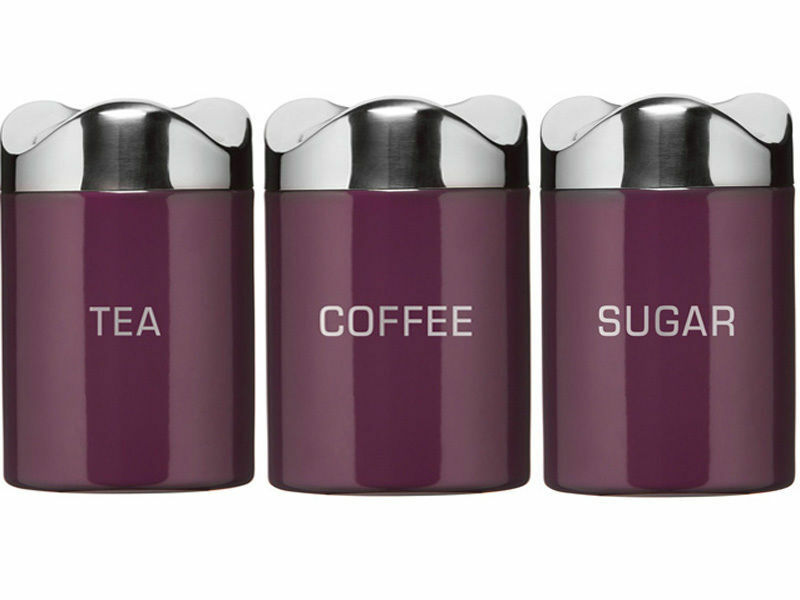 Purple Kitchen Canisters Uk