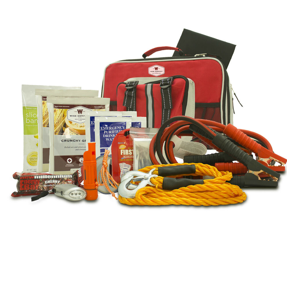 All-In-One Auto Emergency Survival Kit Safety First Aid