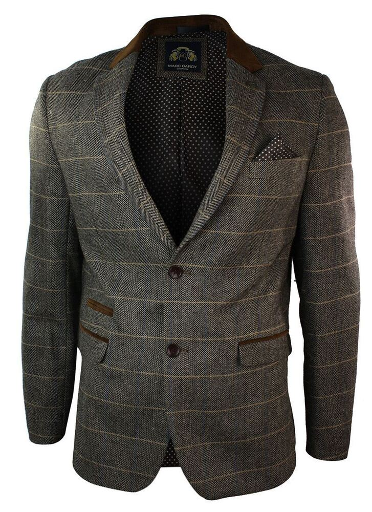 Harris Tweed Mens Brown Windowpane Tweed Jacket Regular Fit % Wool Notch LapelR. by Harris Tweed. $ $ FREE Shipping on eligible orders. H2H Mens Casual Slim Fit Two-tone Herringbone Jacket Cardigans. by H2H. $ - $ $ 29 .