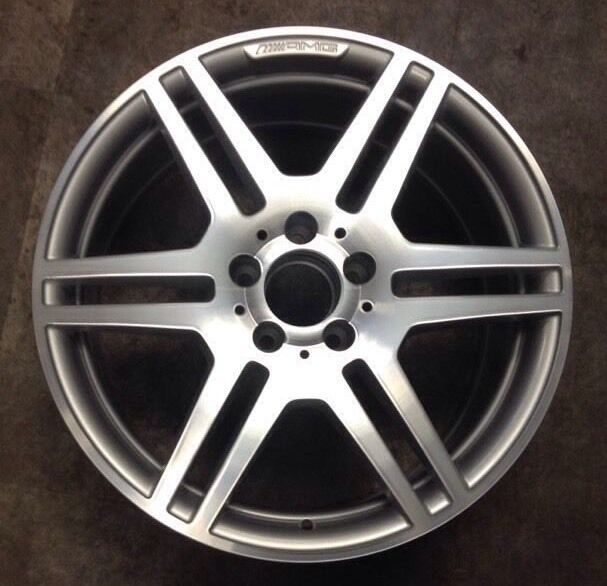 Mercedes c300 c350 2008 2009 65530 aluminum wheel rim 17 x for 2008 mercedes benz c300 tires