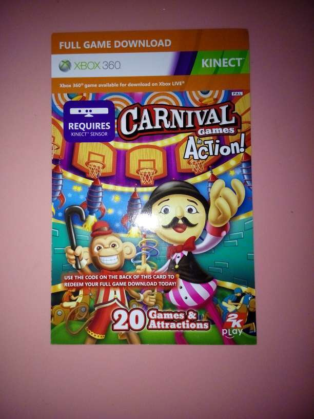 Carnival kinect full game download card for xbox 360 not a - Battle carnival download pc ...