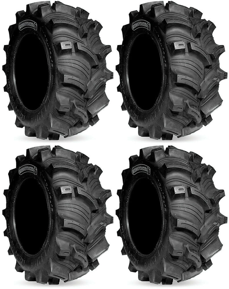 Four Wheeler Tyres : Four kenda executioner atv tires set front