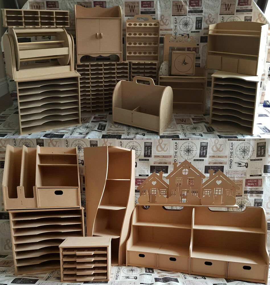 Stamps Away Mdf Wooden Elements Storage Kits Ebay