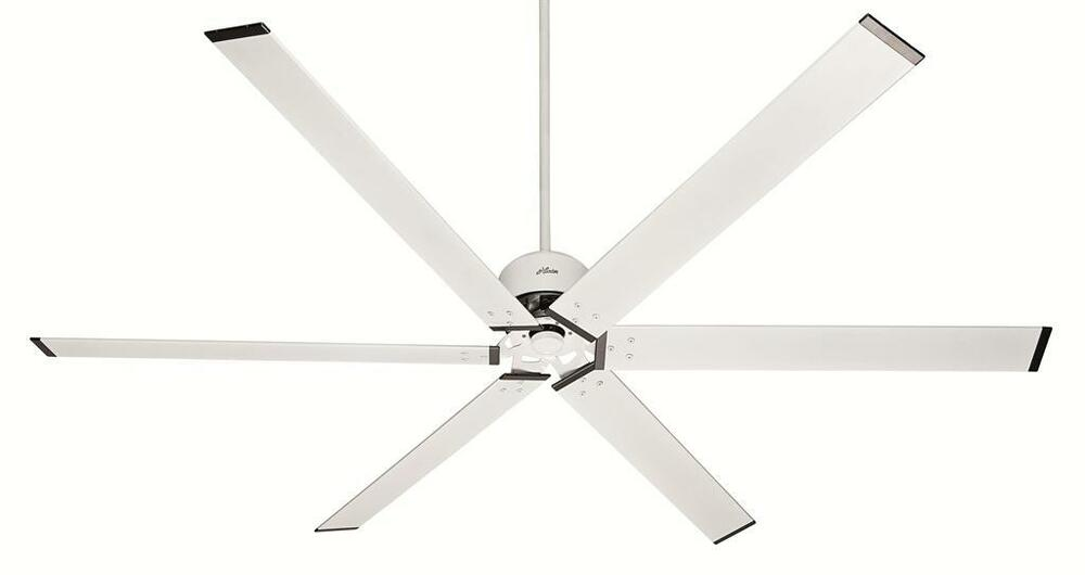 Hunter 96 industrial style fresh white damp rated ceiling Industrial style ceiling fans