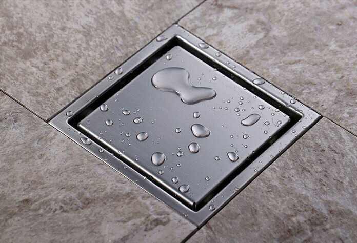 Bathroom Floor Drain : Modern floor drain bathroom shower strainer