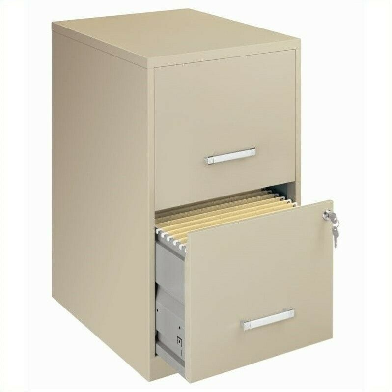 locking storage cabinet filing cabinet file storage hirsh 2 drawer letter locking 22784