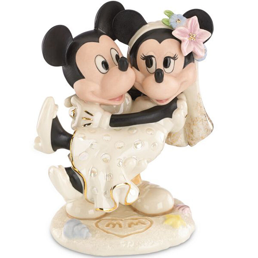 mickey and minnie mouse wedding cake toppers lenox disney minnie s wedding minnie amp mickey 17342