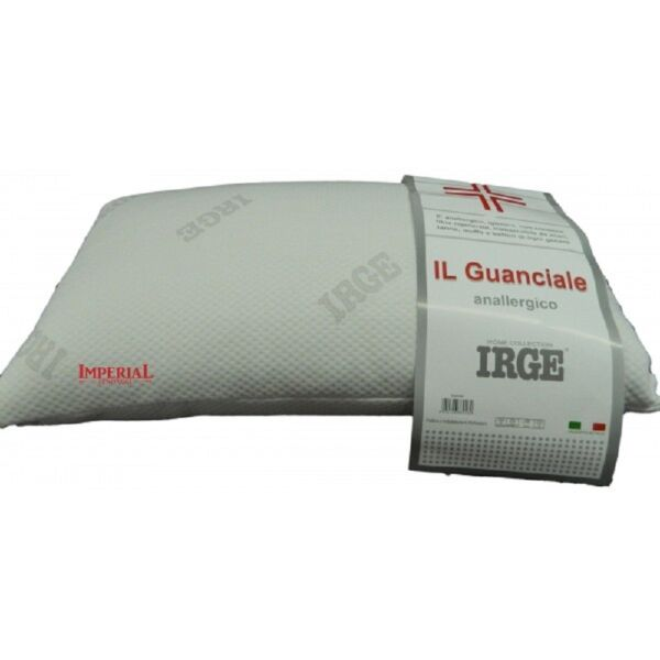 GUANCIALE CUSCINO IRGE ANALLERGICO IGIENICO MADE IN ITALY LETTO NOTTE CAMERA