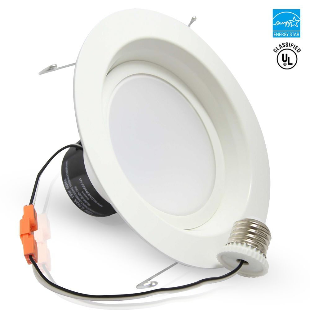 Led Recessed Lighting Kit 5000k : Watt inch dimmable retrofit led recessed lighting