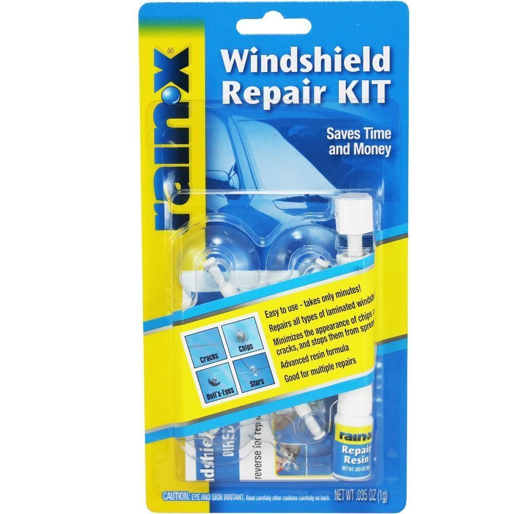 Rain X Windshield Repair Kit Crack DIY Auto Glass Wind