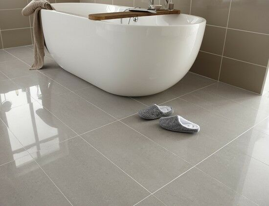 high gloss bathroom tiles lounge steel grey polished porcelain 60 x 30 wall 18725