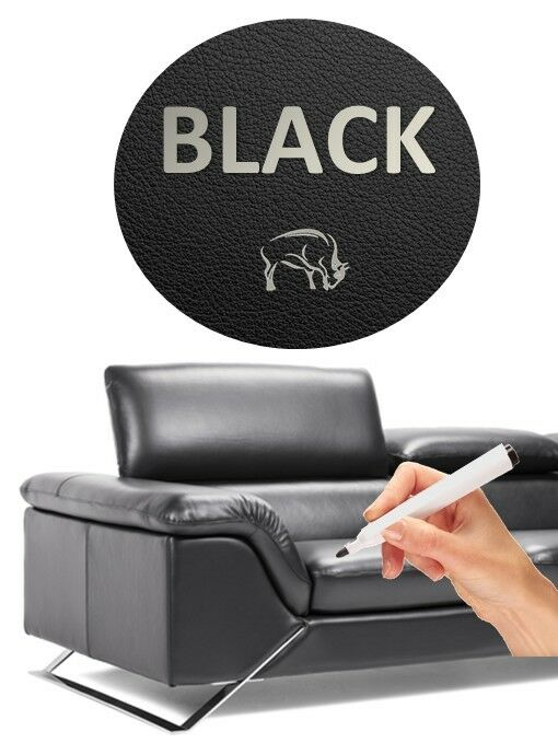 black dye leather repair pen scuffs scratches sofas car seats bags ebay. Black Bedroom Furniture Sets. Home Design Ideas