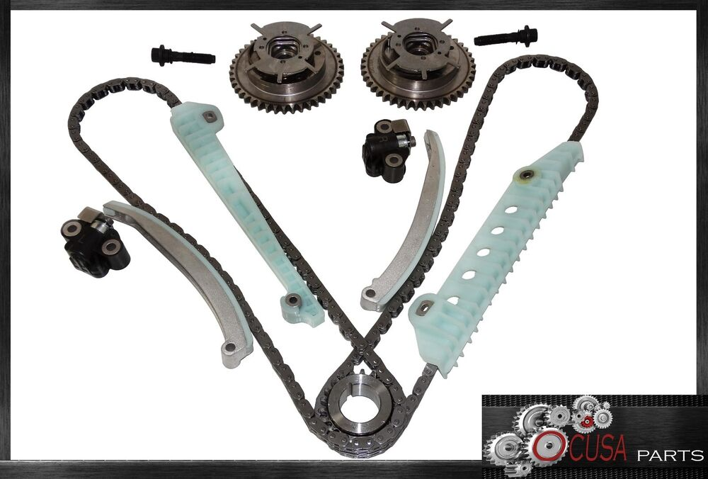 Complete New Timing Chain Kit With Vvt Sprockets Fits Ford