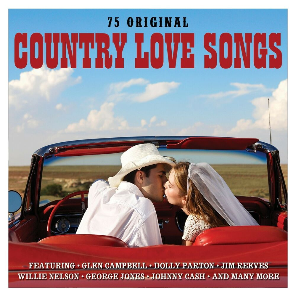 Country Love Songs VARIOUS ARTISTS Best Of 75 Classics