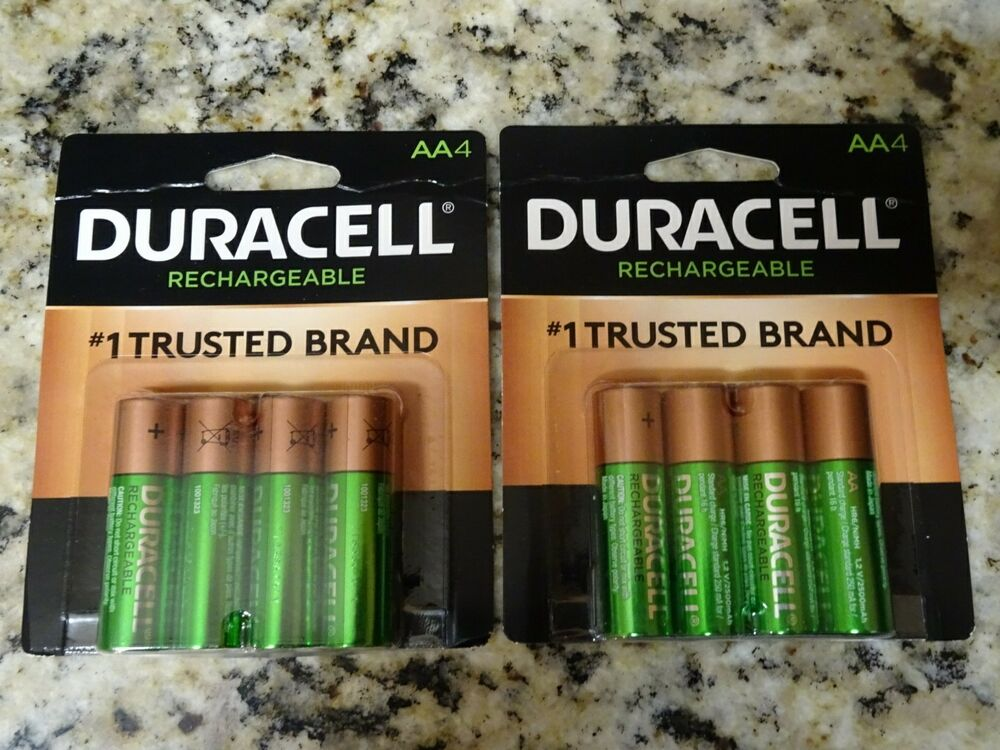 8 duracell aa rechargeable nimh 2400 mah 1 2v batteries. Black Bedroom Furniture Sets. Home Design Ideas