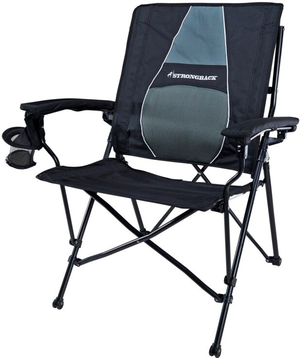 Strongback Elite Foldable Chair With Padded Lumbar Support