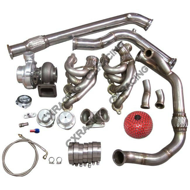 Ls1 Engine History: T76 Single Turbo Manifold Downpipe For 240SX S13 S14 LS1