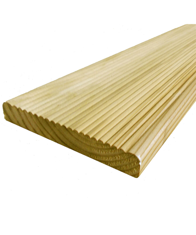 10 value decking boards 19 x 118mm cheap tanalised On tanalised decking boards