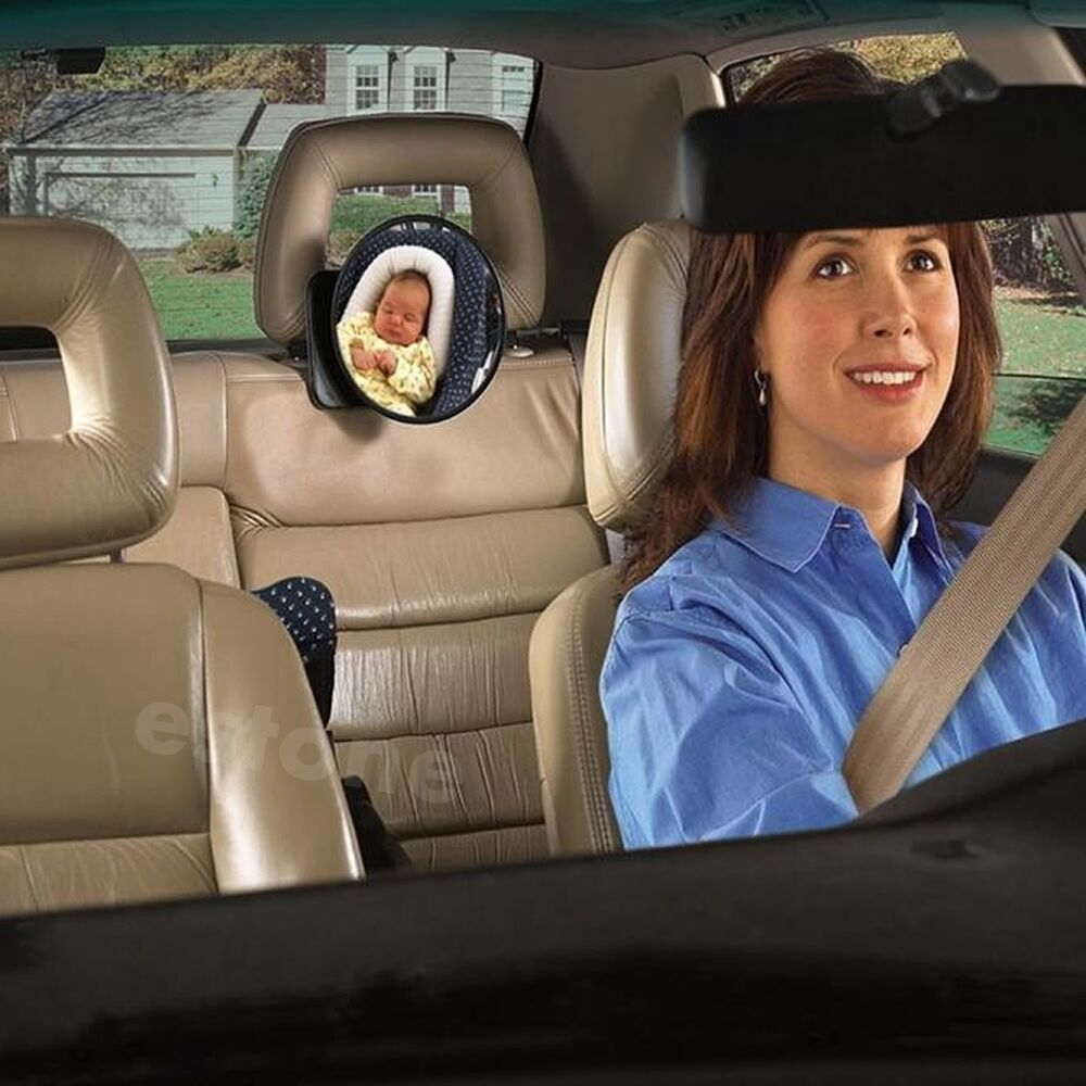 Car Safety Easy View Back Seat Mirror Baby Facing Rear